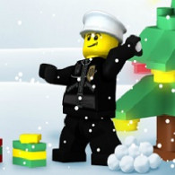 City Lego flash game: New year. Lego City: New Year online, free of charge, without registration