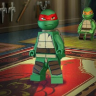 Flash game of Lego Cherepashki Ninzya. LEGO Teenage Mutant Ninja Turtles online, free of charge, without registration