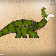 Flash game Shape fold animals