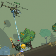 Helicopter 2 computer game: Bomber