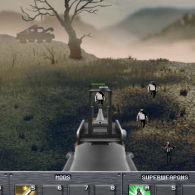 Zombie shooter game of Last Line of Defence