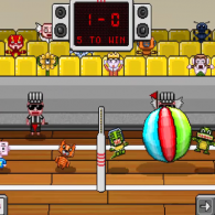 Онлайн игра Pixel Volley