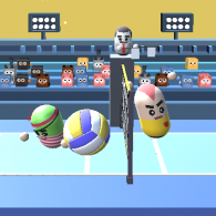 Онлайн игра 3D Amazing VolleyBall