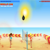 Онлайн игра Boom Volleyball