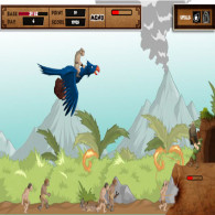 Browser flash game Hero's Lock. Castle Hero online, free of charge, without registration