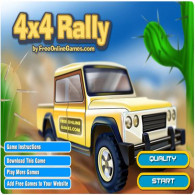4x4 Rally - a rally game by trucks (pickups)