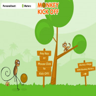 Онлайн игра Monkey Kick Off