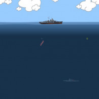 Онлайн игра Submarines Attack